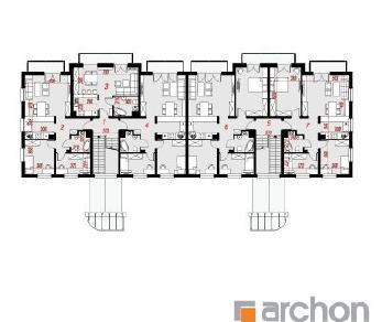 Проект  Дом у бульвара 14, 1351 м2