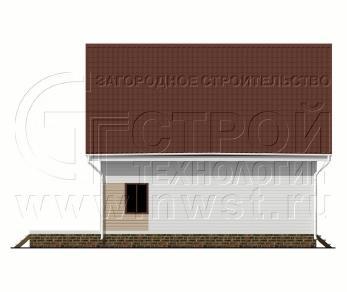 Проект дома Проект дома №131, 70 м2