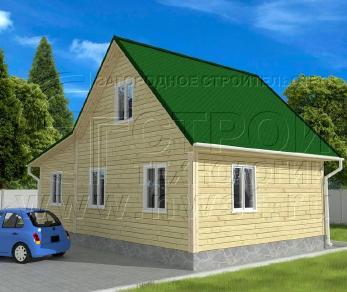 Проект дома Проект дома №57, 57 м2