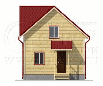 Проект дома Проект дома №71, 37.5 м2
