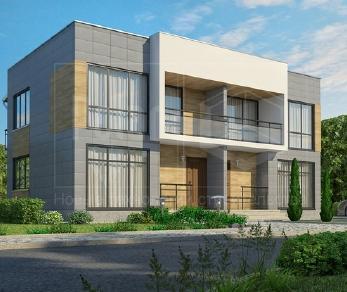 Проект дома Дуплекс, 184 м2