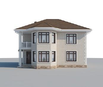Проект дома AS-2255, 186 м2