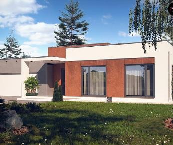 Проект дома Проект Zx104, 164 м2