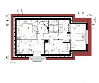 Проект  Дом в авокадо (Г), 176.3 м2