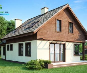 Проект дома Проект z33, 133.4 м2