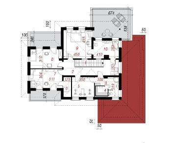 Проект  Вилла Вероника 2, 291.8 м2