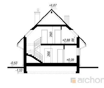 Проект  Дом в примулах 2, 121 м2