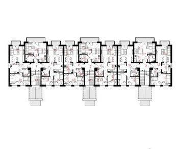 Проект  Дом у бульвара 11, 1727.9 м2
