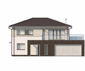 Проект дома Проект Zx26, 196.7 м2