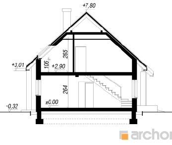 Проект  Дом в землянике 5 (ГН), 136.6 м2