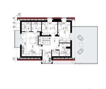Проект  Дом в мандрагоре (Г2), 220.1 м2