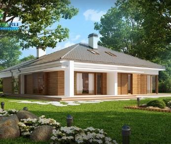 Проект дома Проект z206, 211.7 м2