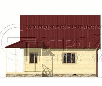 Проект дома Проект дома №4, 48 м2