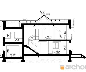 Проект  Дом в рододендронах 5 (Е), 170.6 м2