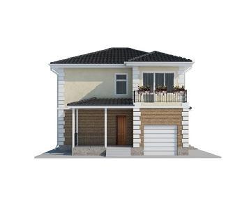 Проект дома AS-2025, 127 м2