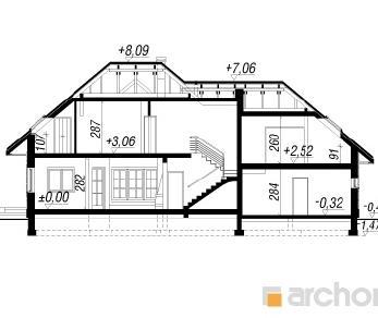 Проект  Дом под вейгелой (Г2), 221.7 м2