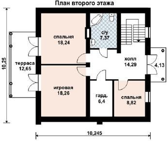 Проект дома AS-2089, 202 м2