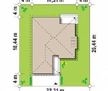 Проект дома Проект Z200, 166.1 м2