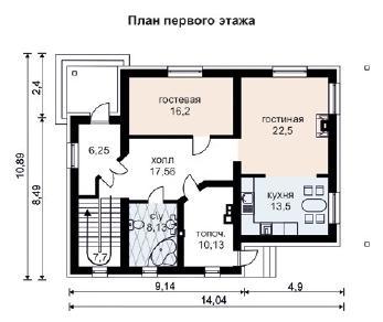 Проект дома AS-2008, 253 м2