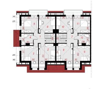 Проект  Дом в клематисах 14 (Р2Б), 250.8 м2