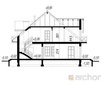Проект  Дом в ноготках, 238.1 м2
