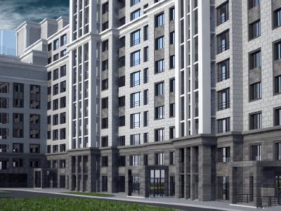 Продажа элитной квартиры 132.8 м2 в новостройке, Смоленская ул., д.14 - №104770