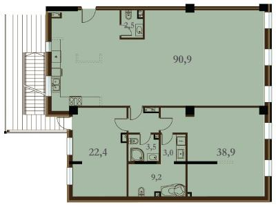 Продажа квартиры 170.4 м2 Конногвардейский бул., д.5