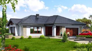 Проект  Дом в бадане, 183.7 м2