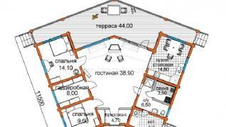 Проект дома Проект ДН-169, 153 м2