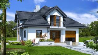Проект  Дом в тимьяне (Н), 179.3 м2