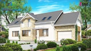 Проект дома Проект z157, 210.1 м2