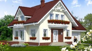 Проект  Дом в антоновке 2 (Г), 159.8 м2
