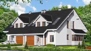 Проект  Дом в клематисах 7, 304.4 м2
