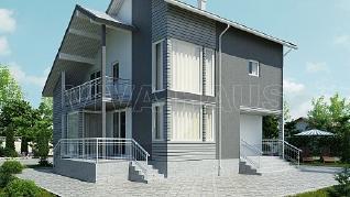 Проект  Дом АЛЛЕГРО, 165 м2
