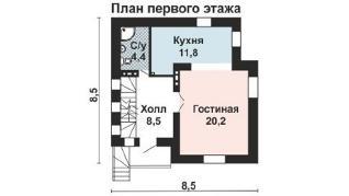 Проект дома AS-2241, 146 м2