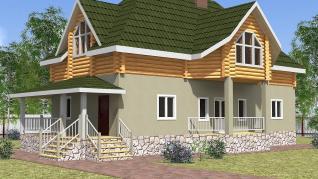 Проект  Гаврилово - дом Шале, 213 м2