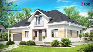Проект дома Проект z171, 228.6 м2