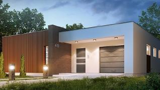 Проект дома Проект Zx49, 159.4 м2