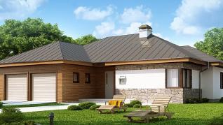 Проект дома Проект Z180, 168.9 м2