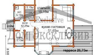Проект дома Проект ДН-210, 210 м2