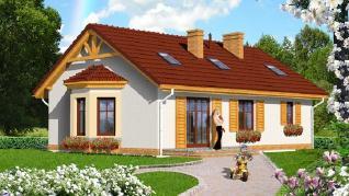 Проект  Дом в ягодах 2 (ПД), 117.3 м2