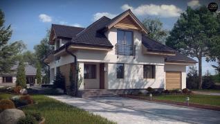 Проект дома Проект z284, 189.7 м2