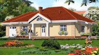 Проект  Дом под красной рябиной (Г), 131.7 м2