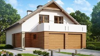 Проект дома Проект Z198, 227.5 м2