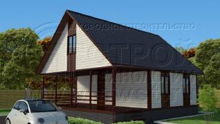 Проект дома Проект дома №103, 72 м2