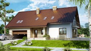 Проект  Дом в айдаредах 2 (Г2), 213.41 м2