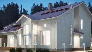 Проект  Проект деревянного дома Alm 211, 238 м2