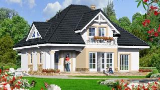 Проект  Дом в чернушке, 201.9 м2