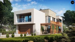Проект дома Проект zx114, 207.2 м2