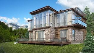 Проект  Дом ПАССАЖ, 272 м2